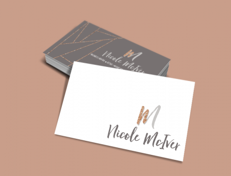 Nicole McIver - Business Cards