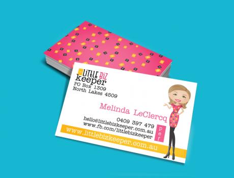 Little Biz Keeper Business Cards